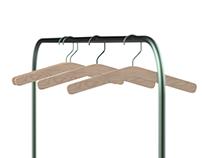 Clothes Rack + Hanger