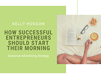 How Successful Entrepreneurs Should Start Their Morning