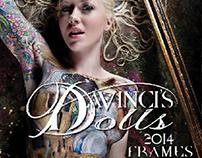 DaVinci's Dolls Logo & 2014 Calendar Design