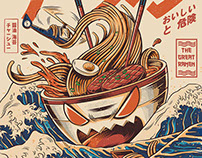 The Great Ramen off Kanagawa