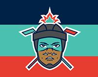 Mexico City Warriors - NHL Design