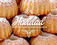 Haddad Confitería Arabe - Identidad Gráfica / Packaging