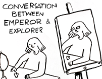 Conversation between Emperor + Explorer