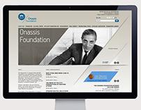 Onassis Foundation, Website