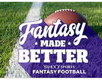Yahoo! Fantasy Football. Type Design.