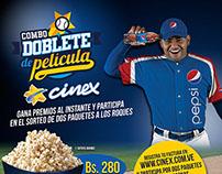 Cinex - Pepsi platform based