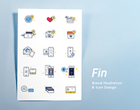 Brand Illustration : Fin.my