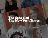 The School of The New York Times / Spotlights Exp.