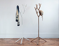 Y-Rack - The expandable modular coat rack system