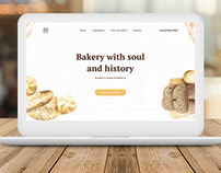 "Web design for the bakery ""Your bread"""