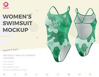 Women's Swimsuit Mockup V3