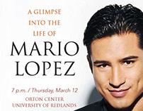 Mario Lopez Lecture Promotion