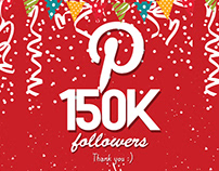 Celebrating 150k Followers