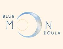 Blue Moon Doula branding