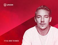 Branding Union Music Platform