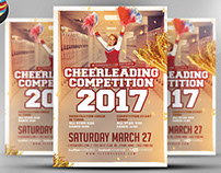 Cheerleading Competition 2017 Flyer Template v2