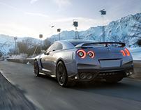 Nissan GT-R [Full CGI]