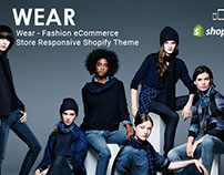Wear – Fashion eCommerce Responsive Free Shopify theme