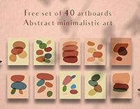 Free Abstract Minimalist Art Set