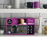 Raymond Blanc Cookware Packaging