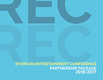 Partnership Package: Ryerson Entertainment Conference