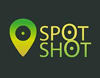illustrator logo design spot shot