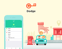 Dodge - iBeacon App for iPhone and Android