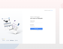 Signup forms for SaaS