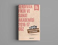 2016–2017 Fall Semester's catalog