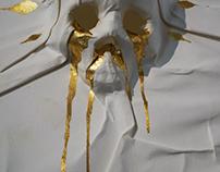 3D Skull Paper/Poster