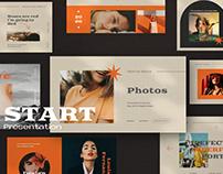 Start Powerpoint Brand Urban Concept