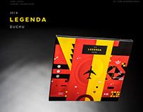 Duchu - Legenda / 2018 / album package design
