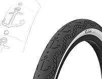The Sailor - BMX tire concept