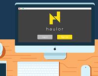 Haulor - Motion Graphics Explainer Video