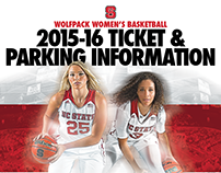 NC State Women's Basketball Flyer