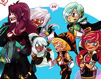 Praxina's Squad