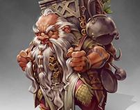 Dwarf Cook / Illustration