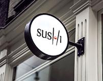 Logo & Brand Identity for Sushi Restaurant