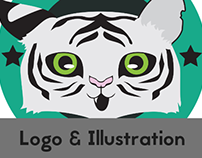 Little Tiger Brand Logos and Product Illustrations