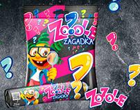 ZOZOLE ZAGADKA branding, webdesig, promotional material