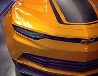 Camaro Bumblebee T4 Concept
