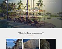 Explore Page - Hotel WordPress Theme