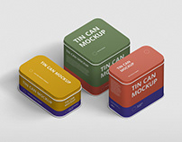 Tin Can Mockup Bundle