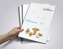 Chirag Enterprises | brand identity & brochure design