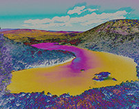 Dove Lake_Digital Manipulation