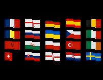 EURO 2016 T-Shirts