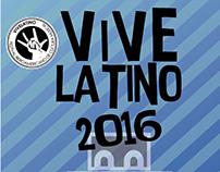 FLYER, PULSERA Y CARTEL DEL VIVE LATINO 2016