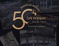 Café Velasquez - 50 Anos