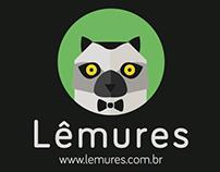 Lêmures - Logo e identidade visual