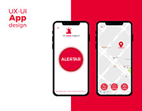 UX-UI app Mi Zona Segura